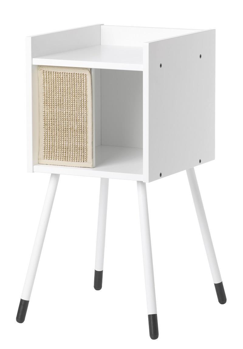 LURVIG 附支腳貓屋, 白色 $ 1,990 圖片提供_IKEA