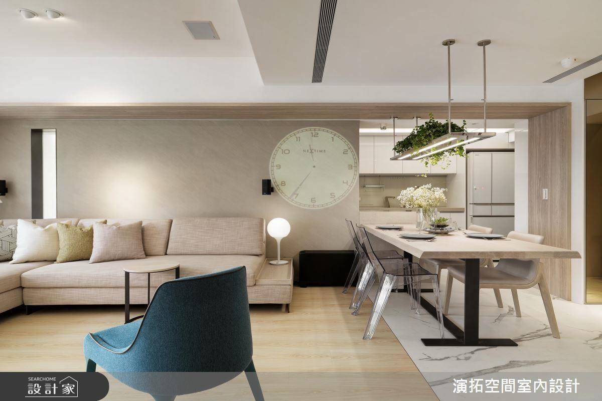 寬敞流暢動線、明亮採光,創造舒適居家生活。