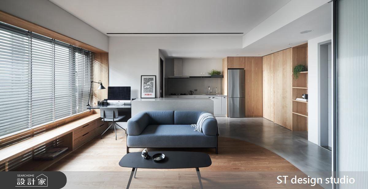 利用材質原始色,為整體居家呈現自然質樸的舒適氛圍。