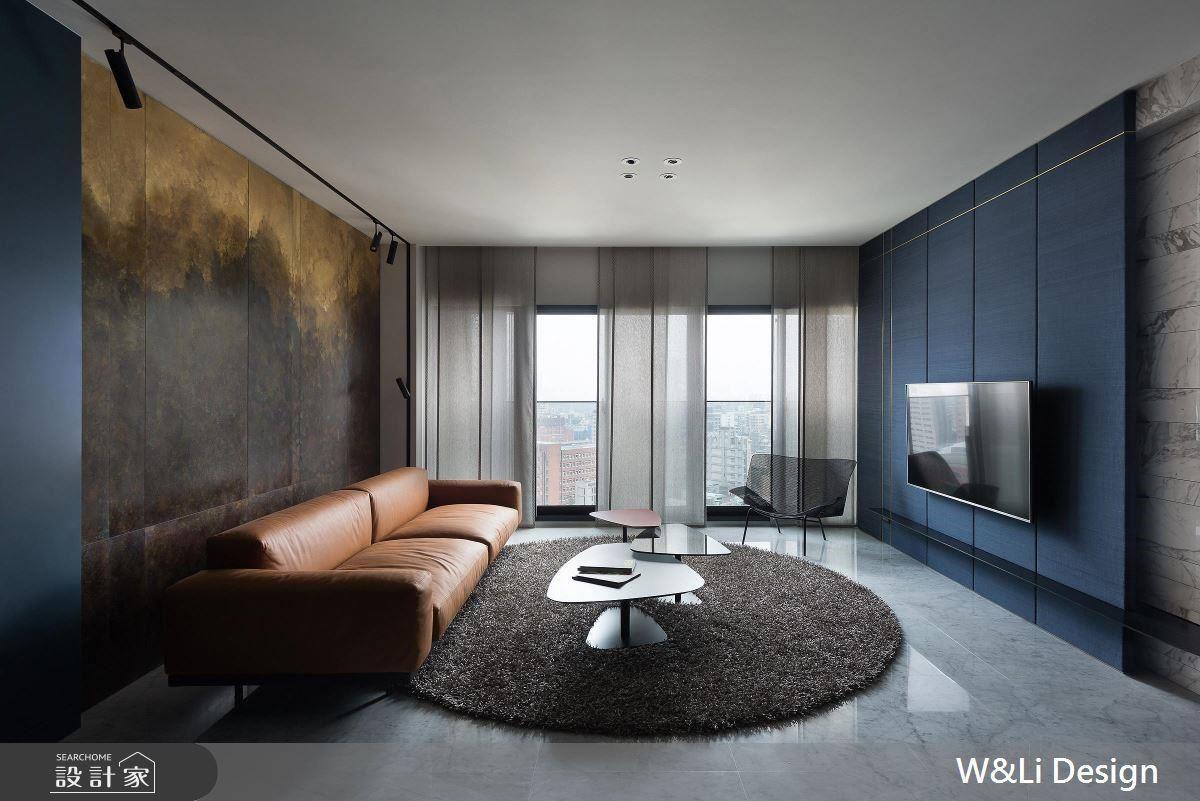 運用藝術語彙與飽和色彩,替居家空間潤飾令人嘆為觀止的豐富表情。