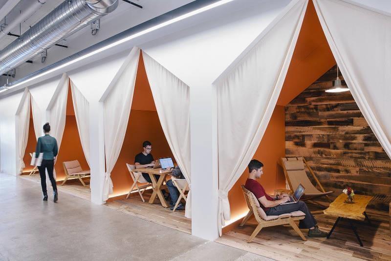 露營風辦公及會議空間。>>看完整文章