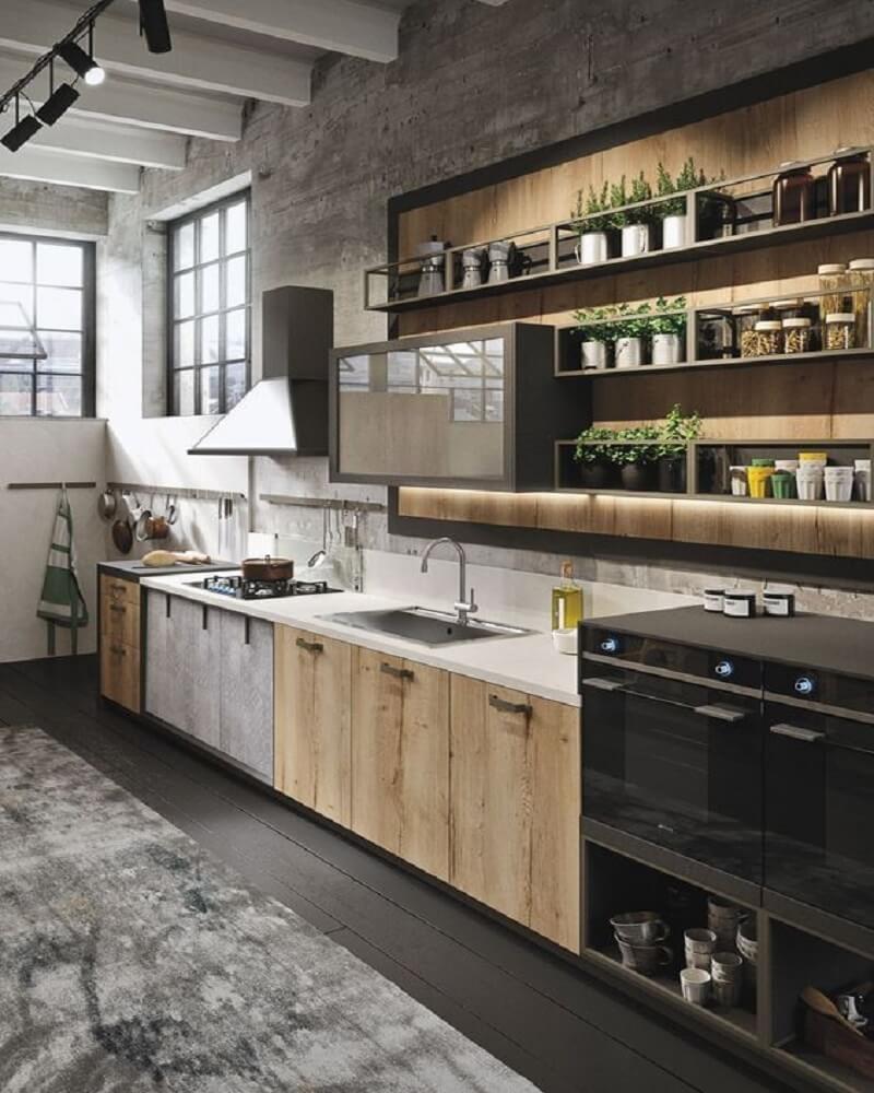 從備料、烹煮到洗滌左至右鋪排,動線流暢,不但做菜更方便,檯面清潔也能快速許多。>>看完整文章