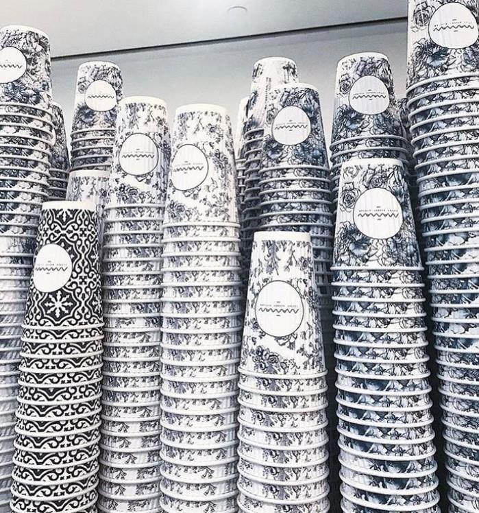 高辨識度的專屬外帶紙杯(圖片來自網路)