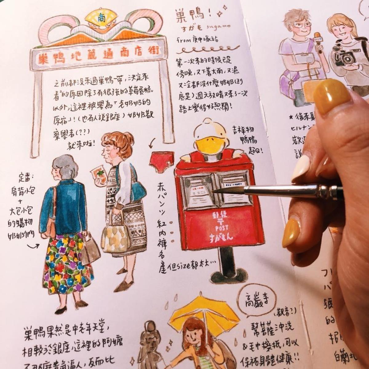 壘摳的插畫手帳(壘摳提供)