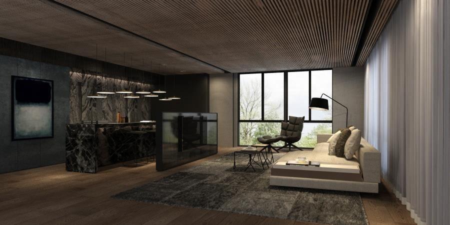 伸保台中展示中心2樓展示空間,設計師-近境制作 唐忠漢。