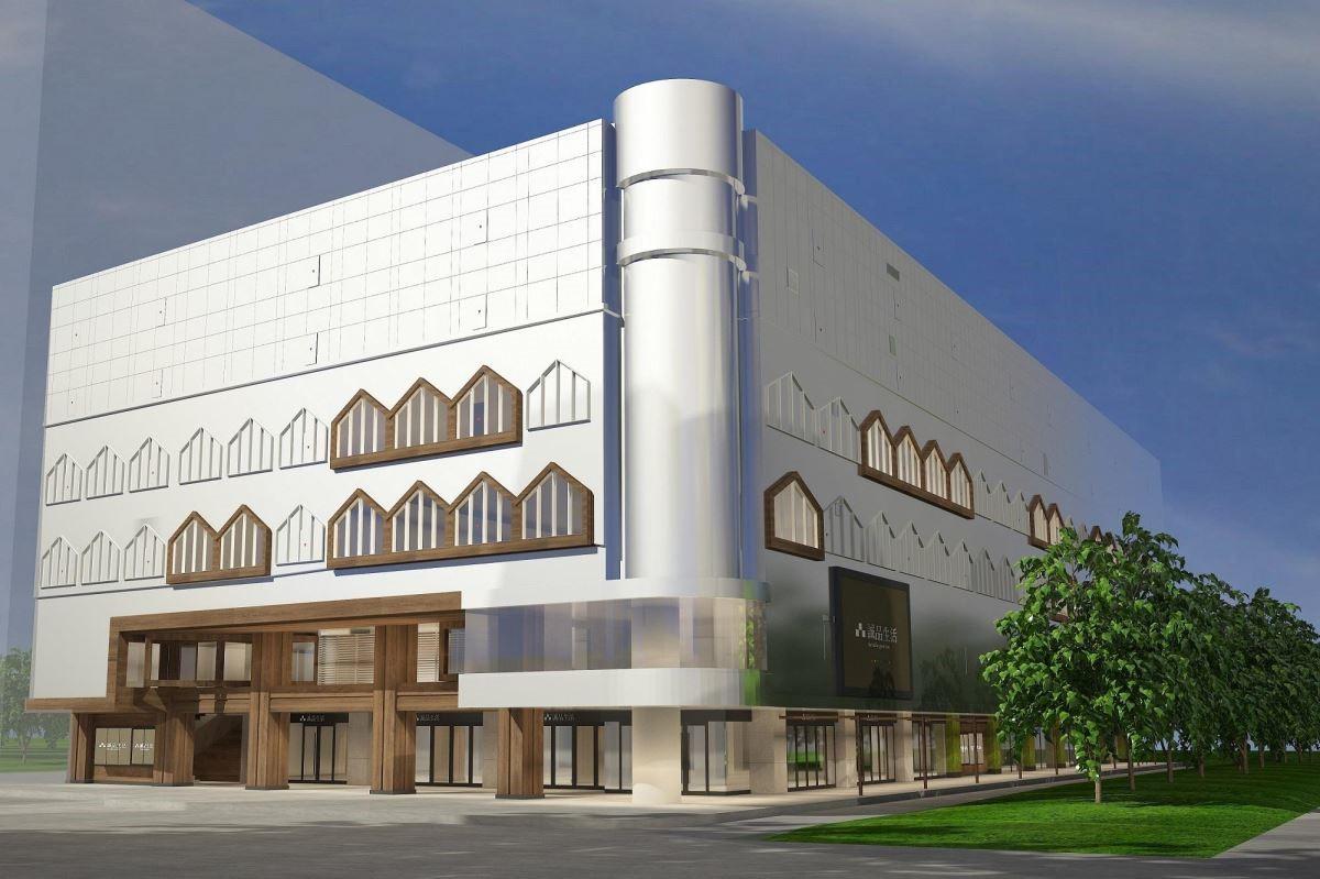 誠品生活南西9月試營運,打造跨文化「生活聚場」(圖為3D店景示意圖)