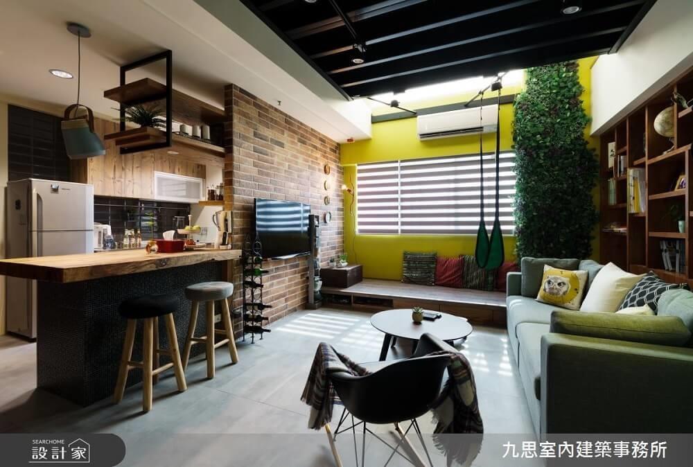 把客廳打造成森林遊樂園,邊看電視邊盪著鞦韆,把對家的幻想完美實現。>>看完整圖庫