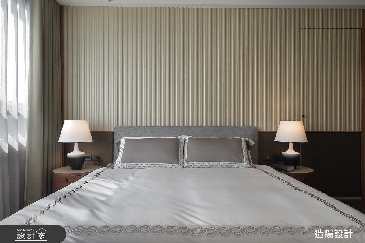 孝親房以色調為基底,烘托出溫馨迷人的舒眠氛圍。