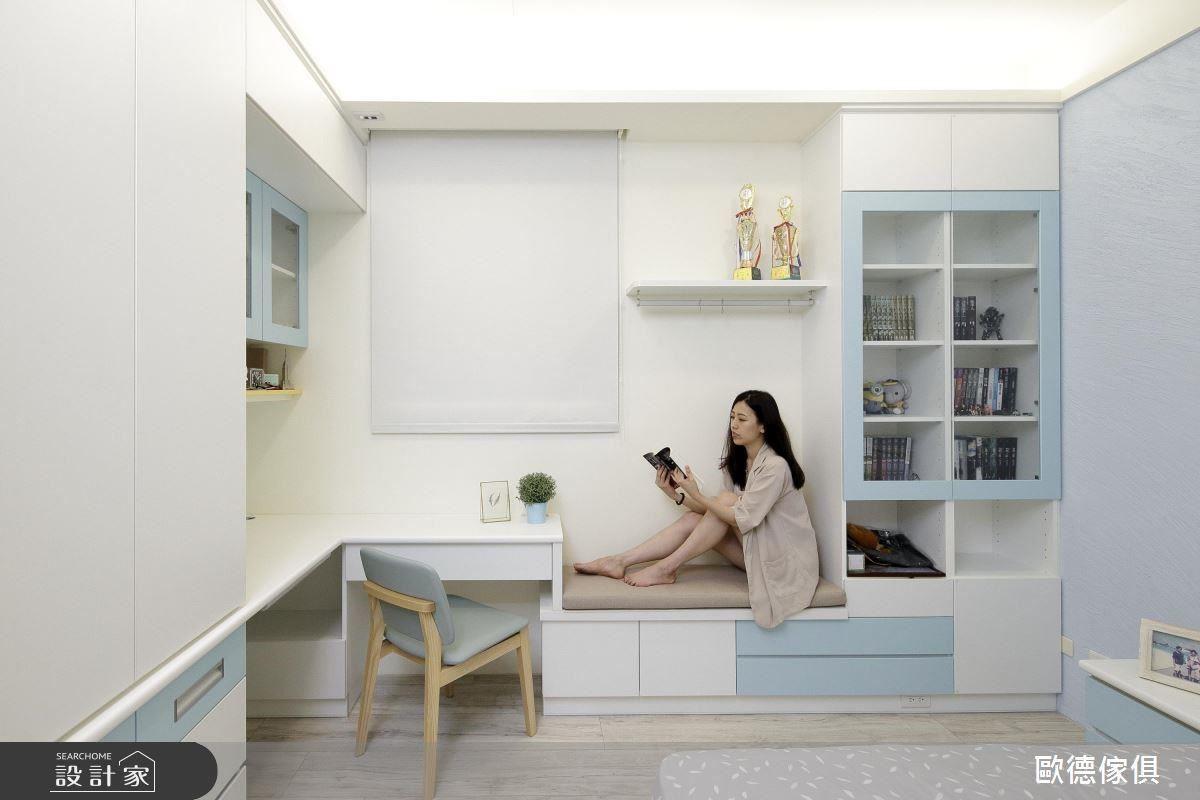 系統板材可提供許多顏色供屋主挑選,滿足屋主對空間的期待。