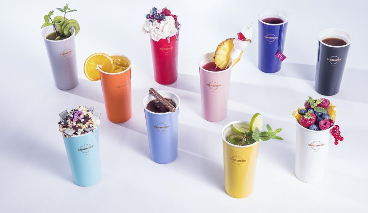 SIEGWERK德國百年琺瑯隨行杯共提供10款新色。