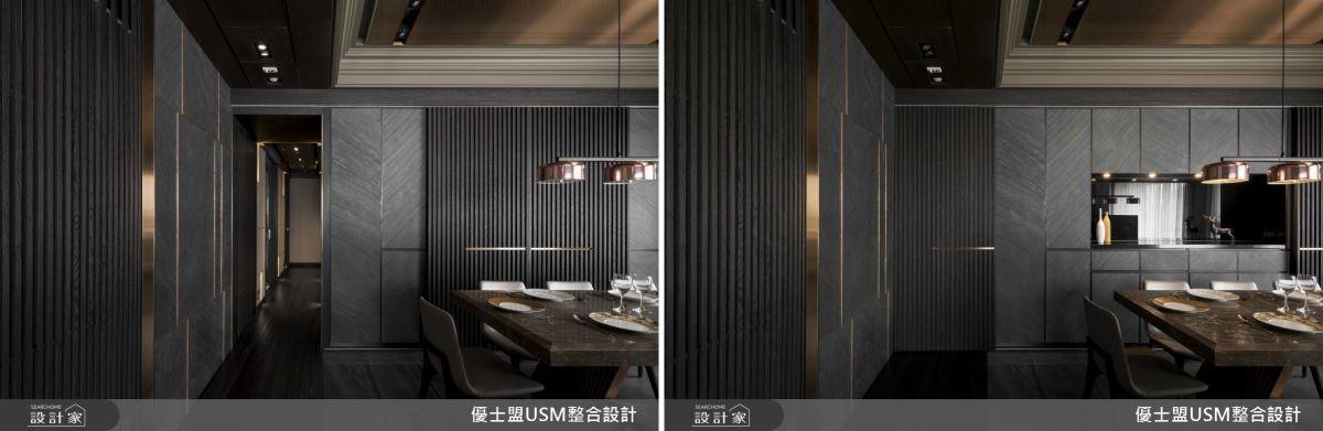 隱藏式櫃體收納設計,兼具美觀以及生活機能。