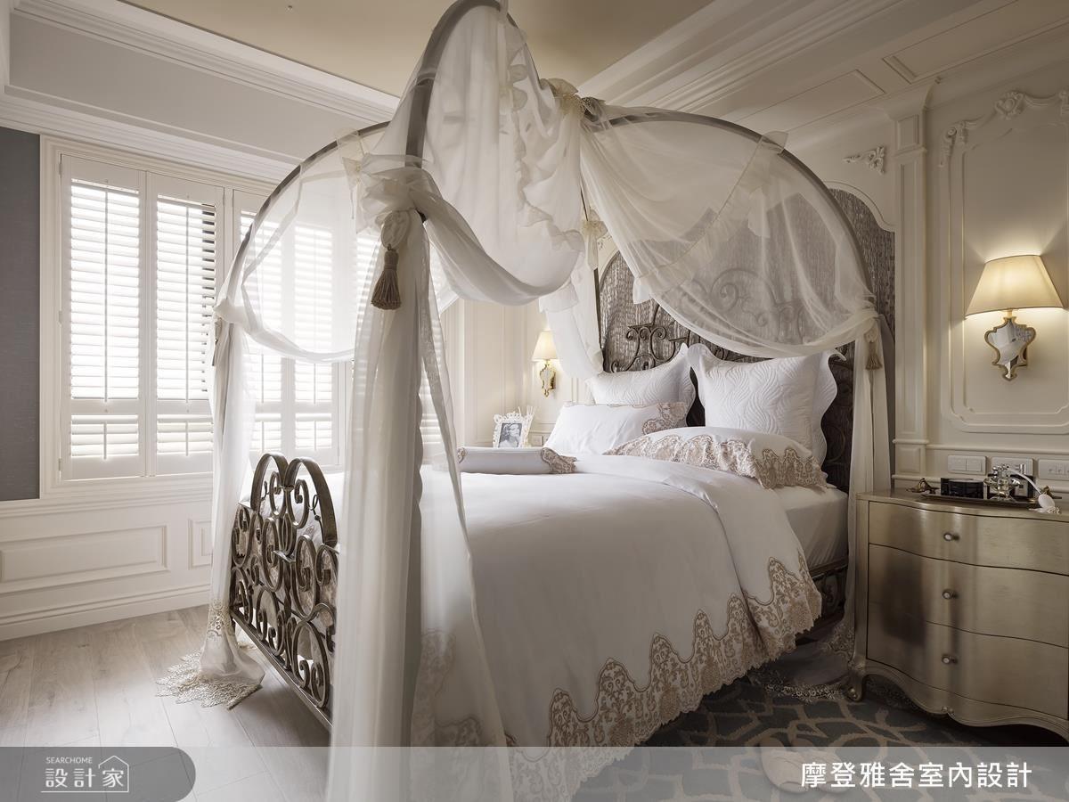 主臥精選南瓜床面造型,營造夢幻童趣的休憩感受。