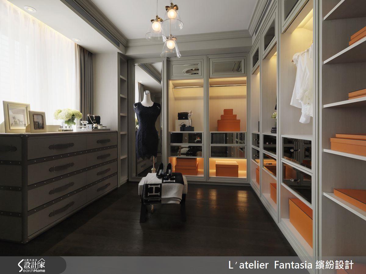 根據自己喜好收納,能讓更衣室使用更加順手,並帶來更整齊的視覺。>>看完整圖庫