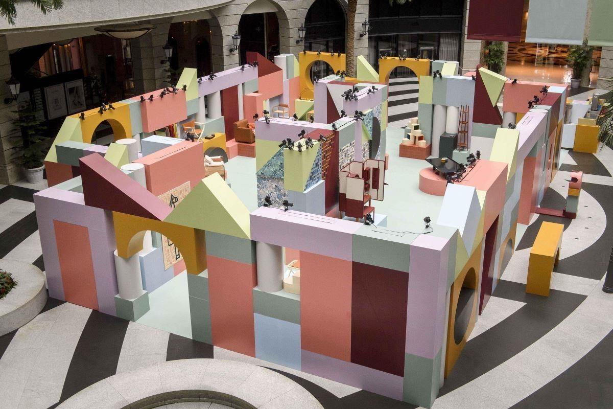 「愛馬仕空間之間」家居藝術裝置展,將於10月20日至11月4日,在台北信義區BELLAVITA寶麗廣場一樓中庭盛大展開。
