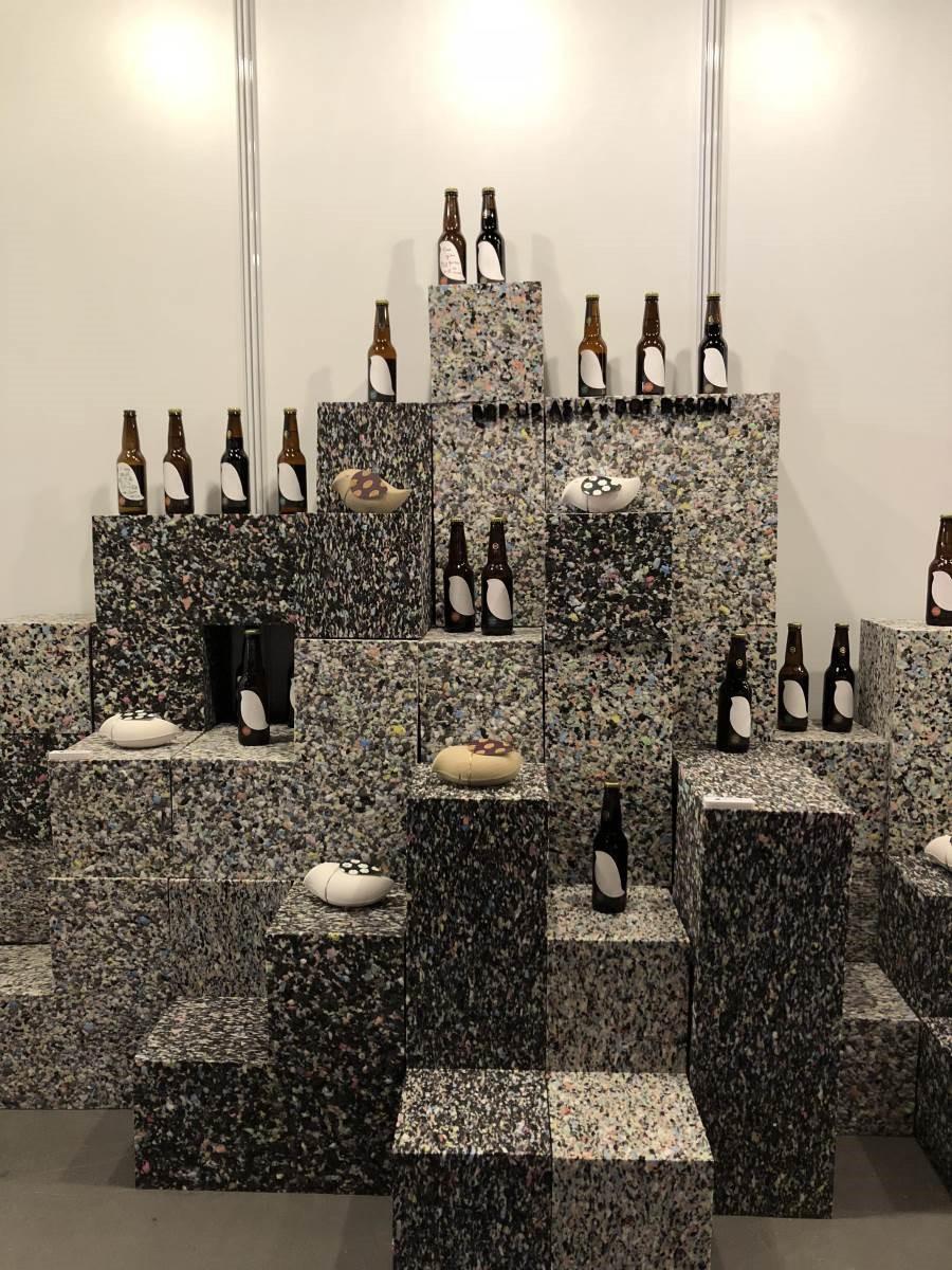 點睛設計為Pop Up Asia特別設計的啤酒瓶,在會場內也可以喝到喔!(溫馨提醒:未成年請勿飲酒)