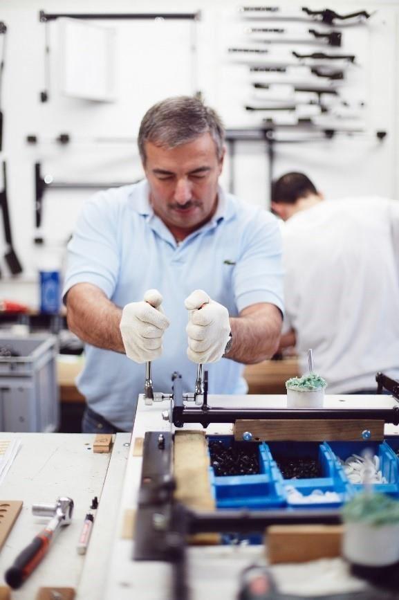 已傳承三代的詩蘭慕依然持續堅持「德國手工製作」。