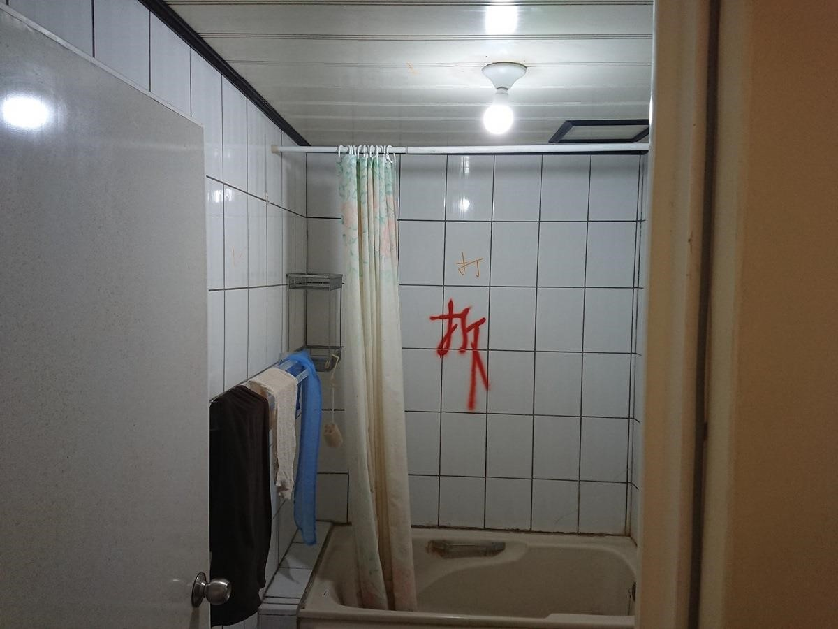 廁所改造前。
