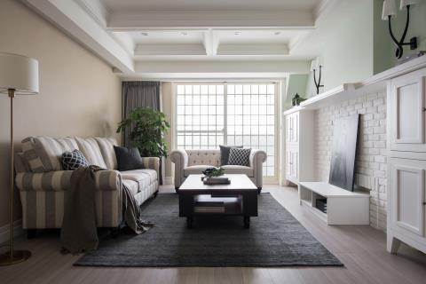 老宅回春術 變身美式簡約風 沐果設計 于大緯、楊淑華