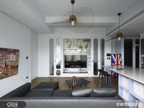 [重覆標題]東方現代新主張 將室內外無縫接軌的小坪數都會宅 甘納設計 林仕杰、陳婷亮