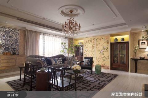 傢飾達人的空間私美學 壁紙紋樣與新中式殖民風格的協奏曲 榭琳傢飾 V.S. 摩登雅舍設計
