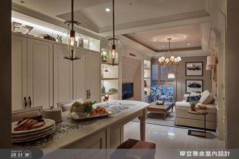 18坪「小好窄」 變身麗池卡登般的醉人美式豪宅 摩登雅舍室內設計 汪忠錠、王思文