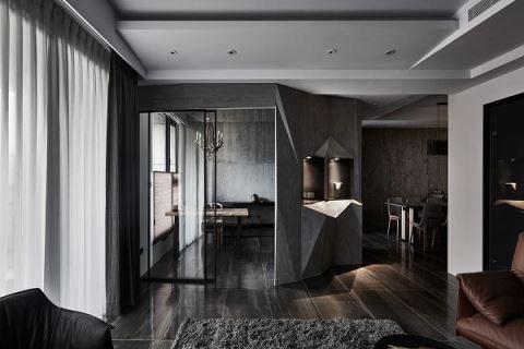 低調大器的優質居宅 展現粗獷奢華獨特底蘊 浩室空間設計 邱炫達