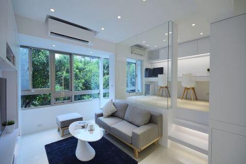 24坪老屋乾坤大挪移 玻璃屋打造溫馨陽光宅 瓦悅設計 胡來順