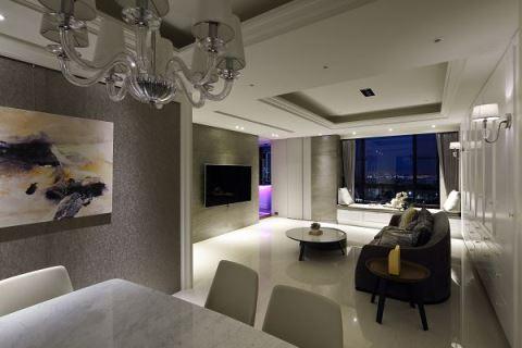 打造時尚 Lounge Bar! 白天、夜晚都超美的 50 坪輕美式生活 聯寬室內裝修有限公司 王毓婷