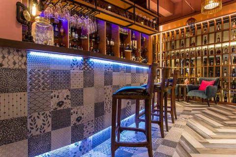 百變磁磚拼貼 打造多彩生活感商辦空間 奕所設計 李軍漢