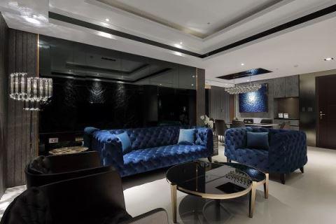 深色系居家這樣設計!用低奢新古典風打造你的異國生活 聯寬室內裝修有限公司 王毓婷