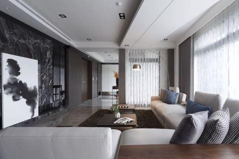 引入山河美景 隱蘊現代低調奢華生活宅 艾馬室內裝修設計 王惠婷