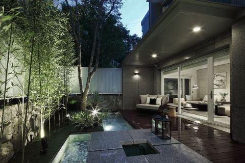 漫步庭園別墅 享受高雅靜謐的休憩天地 舨舍空間設計有限公司 顏善松