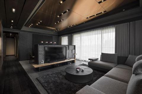 坐擁飯店精緻質感 譜寫現代禪風居宅 優士盟整合設計有限公司 Philips Yeh