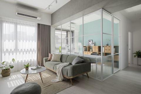 用爽朗氣息 填滿小夫妻的幸福宅邸 拾隅空間設計 劉玉婷