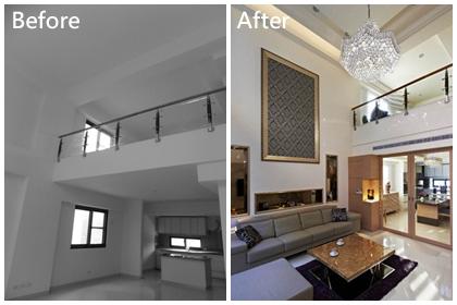 【透天厝改造Before&After】五層樓給6個人住~空間過剩啦!何不保留一樓挑高,大器又寬闊!