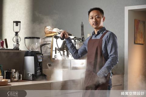 究極の職人魂.張睿誠的空間品味×咖啡美學