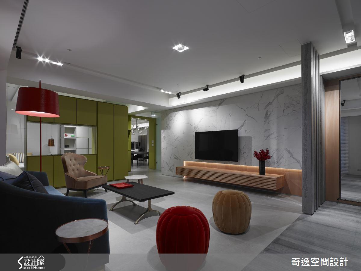 讓書房成為摩登亮點! 優雅又時尚的 53 坪現代宅