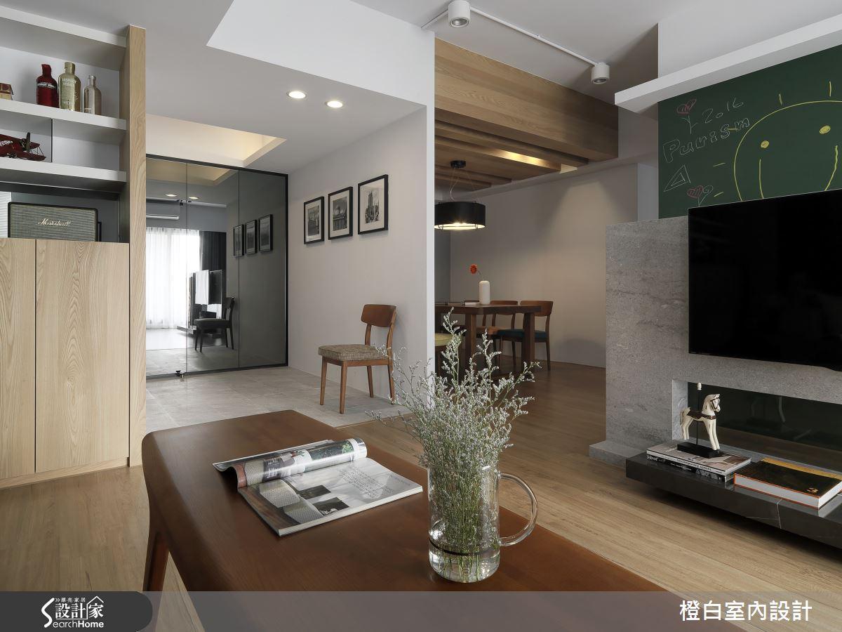 32 坪老屋搖身一變  化身木感歐式現代宅!