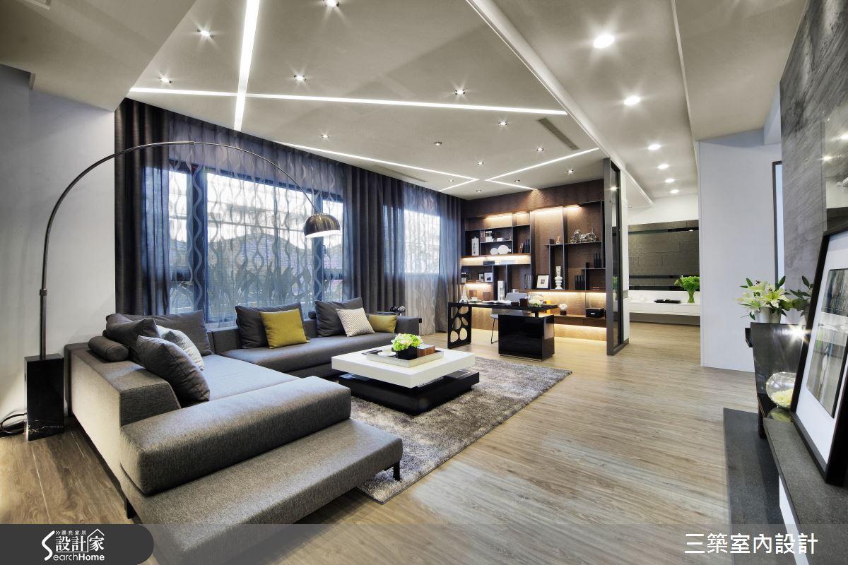 俐落時尚 X 低調奢華 兼具實用機能的夢想居家