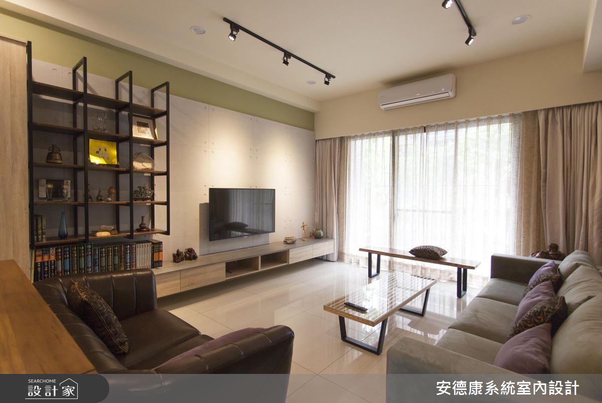 系統家具進駐樓中樓!完美詮釋 Loft 風住宅的感性時刻