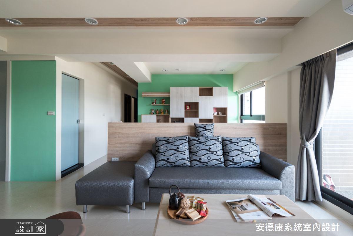 系統家具顛覆你的想像!色彩靈感與滿點收納的家屋提案