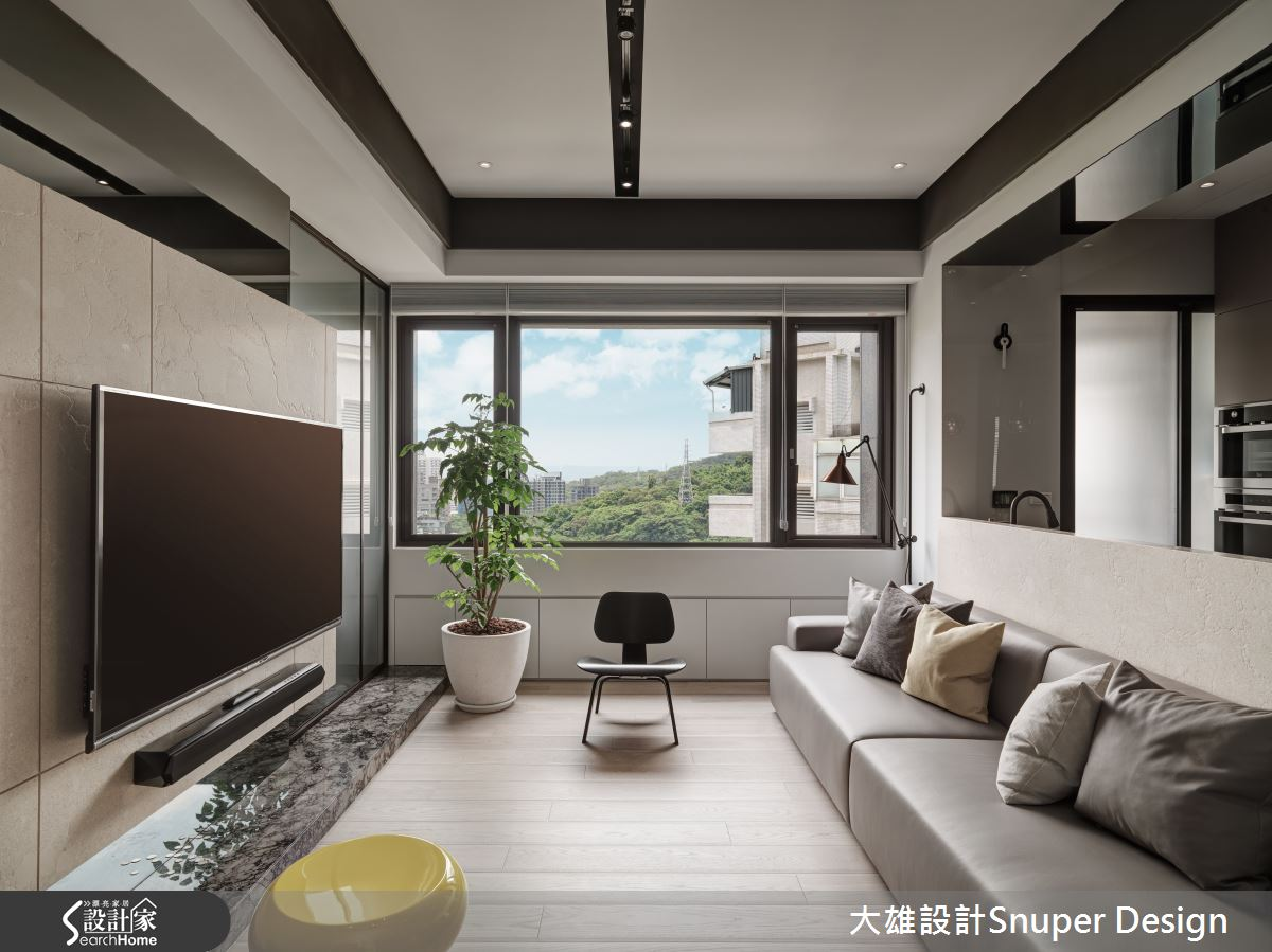 為你的世界留一點空 會呼吸的 22 坪現代宅