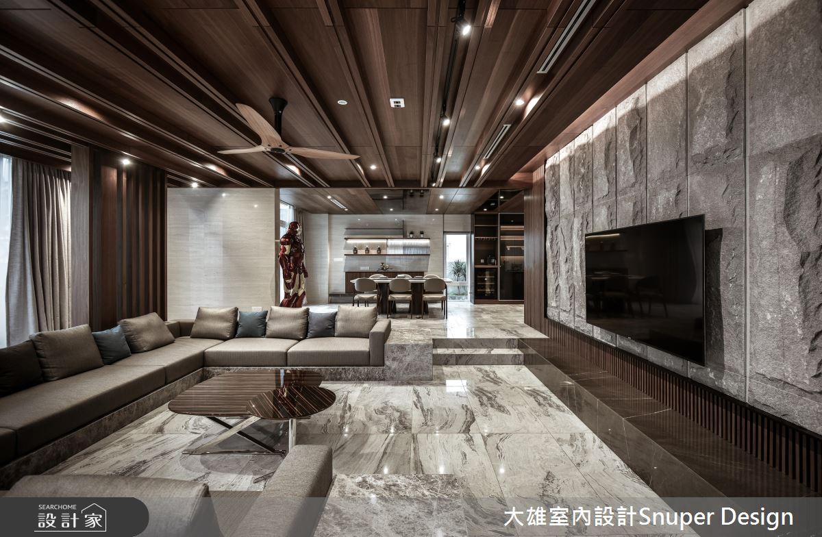 視覺尺度無限開闊 氣度非凡的現代風豪邸