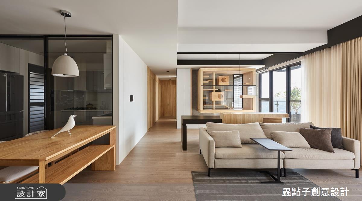 就是要這麼陽光! 打造多貓家庭的 45 坪舒適簡約宅