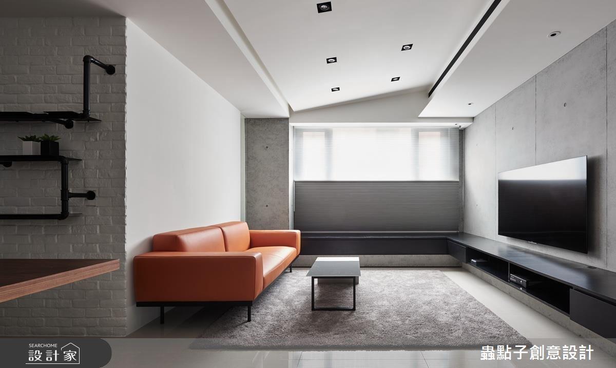 第二個家也交給專業好設計!簡潔、明亮的 22 坪簡約風居家