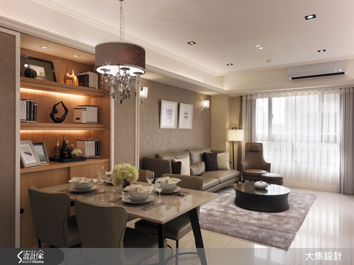 改善昏暗及動線  28 坪也能擁有輕古典小豪宅