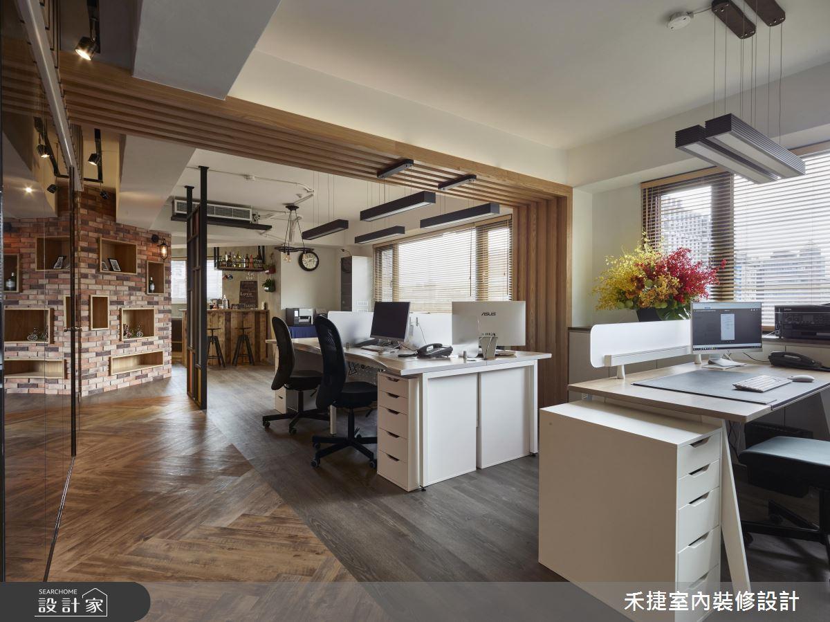 上班也能這麼有型! 50 年商辦大樓變身工業風辦公基地!