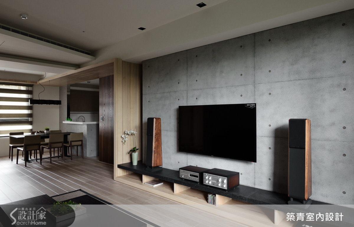 簡約沉穩的都會現代宅,打造 45 坪 4 房 2 廳