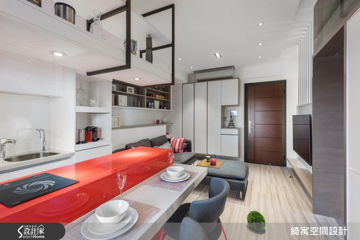 坐擁時尚都會天際線  12 坪夾層竟有 VIP 更衣間和大浴缸!