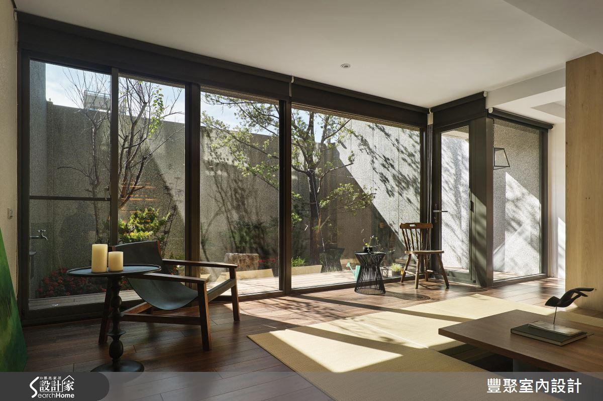 來我家品日光、嚐綠意! 45 坪超自然好客宅!